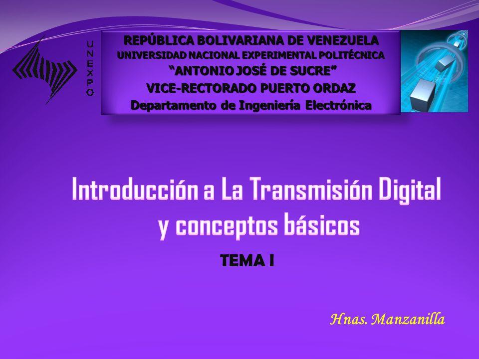 Introducción a La Transmisión Digital y conceptos básicos
