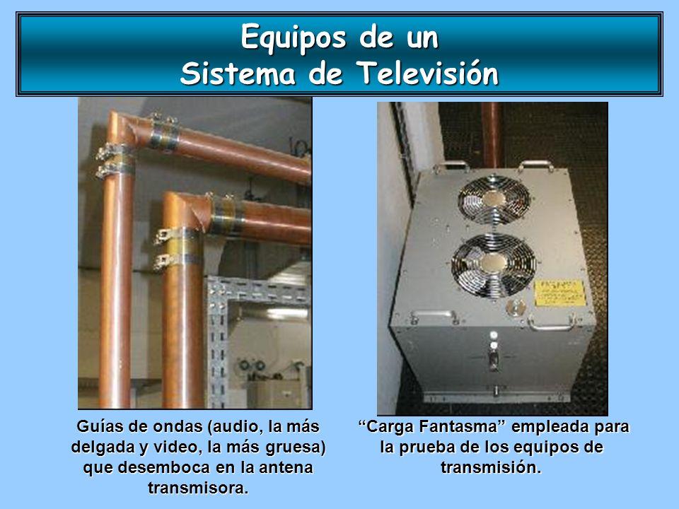 Equipos de un Sistema de Televisión