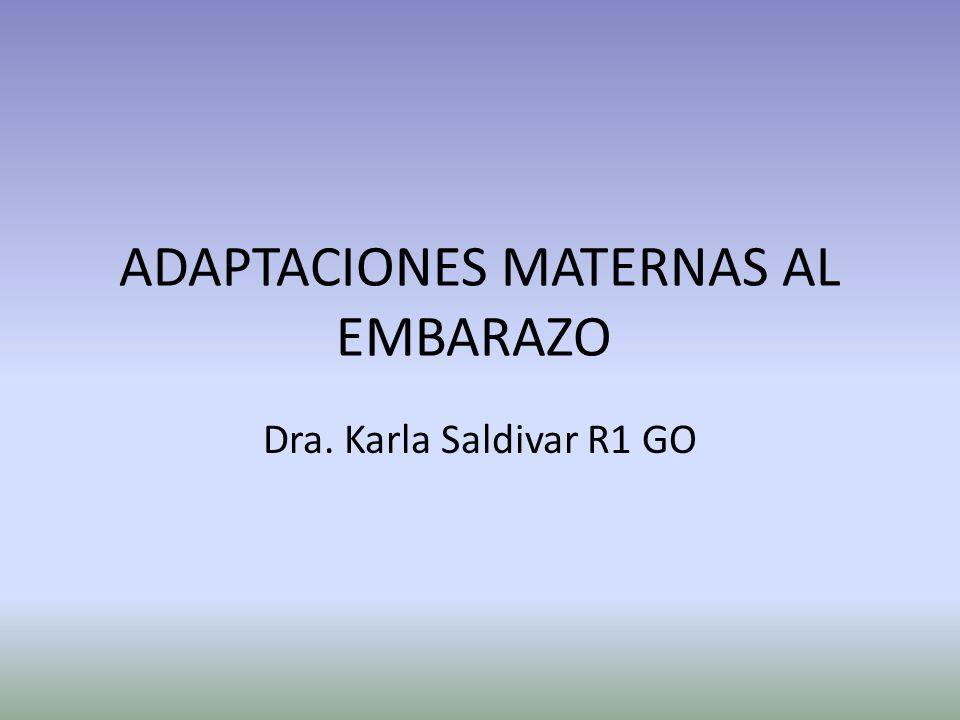 ADAPTACIONES MATERNAS AL EMBARAZO - ppt video online descargar