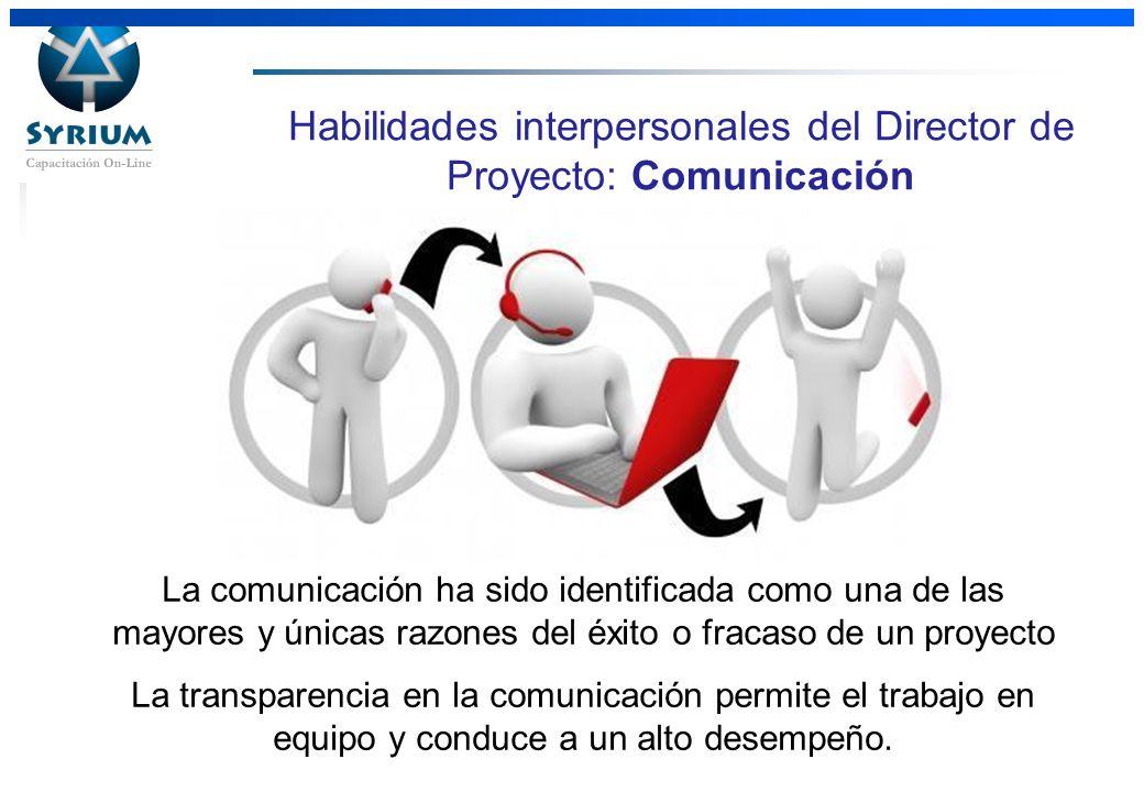 Habilidades interpersonales del Director de Proyecto: Comunicación