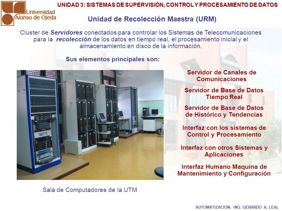 Unidad de Recolección Maestra (URM)