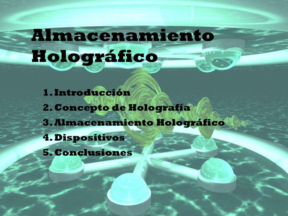 Almacenamiento Holográfico