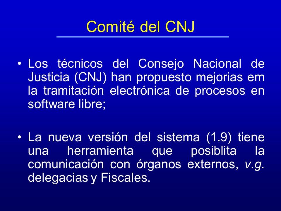 Comité del CNJ