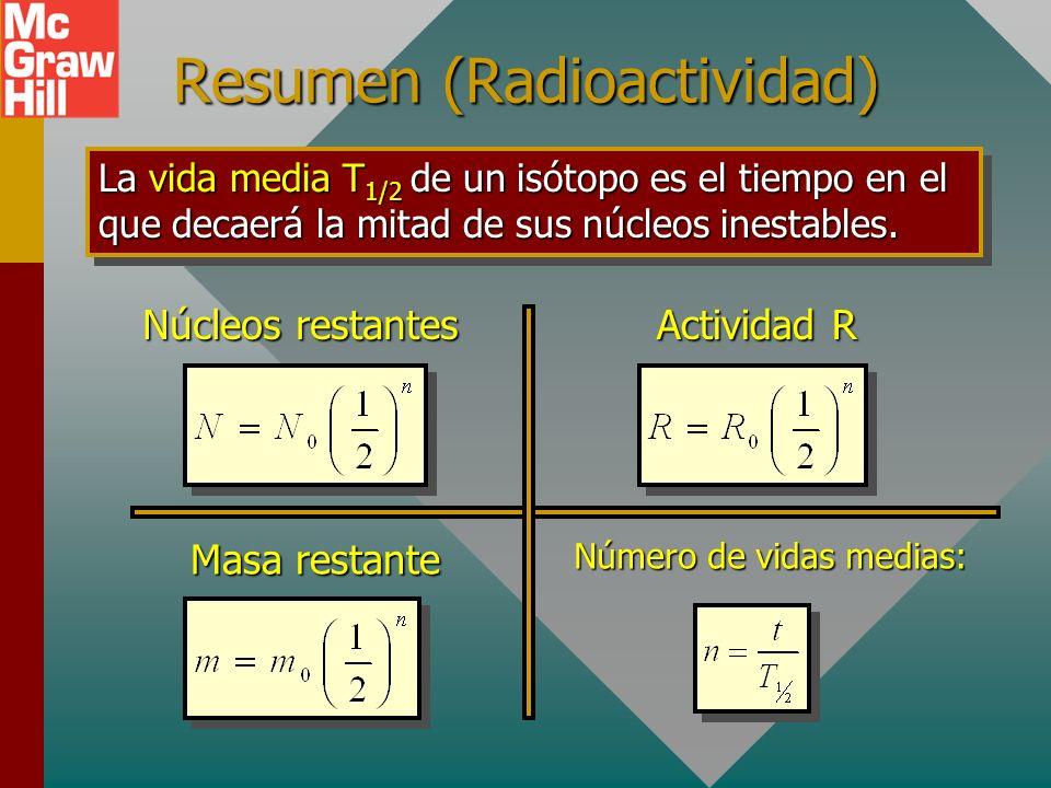 Resumen (Radioactividad)