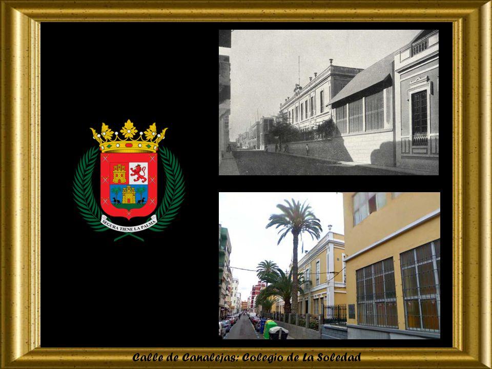 Calle de Canalejas: Colegio de La Soledad