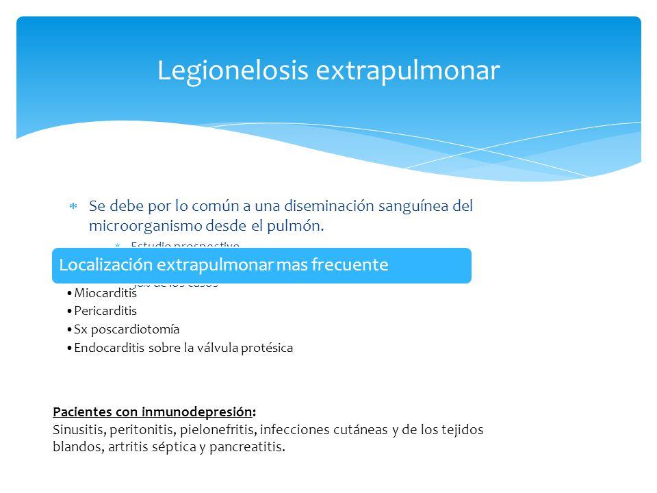 Legionelosis extrapulmonar