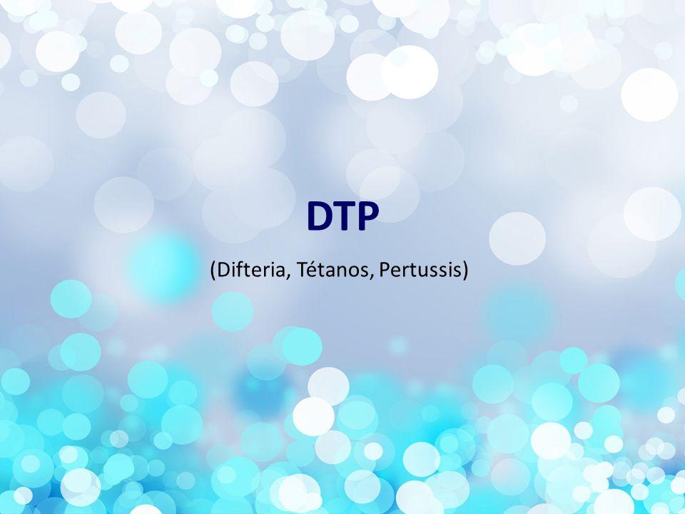 (Difteria, Tétanos, Pertussis)