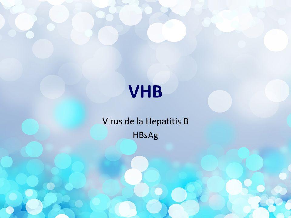 Virus de la Hepatitis B HBsAg