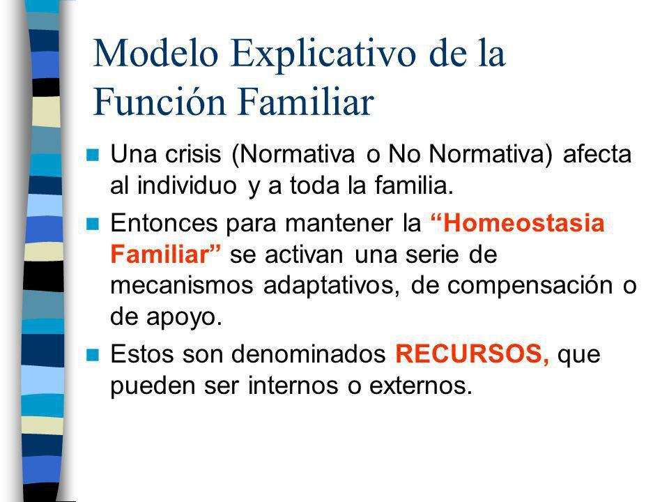 Modelo Explicativo de la Función Familiar