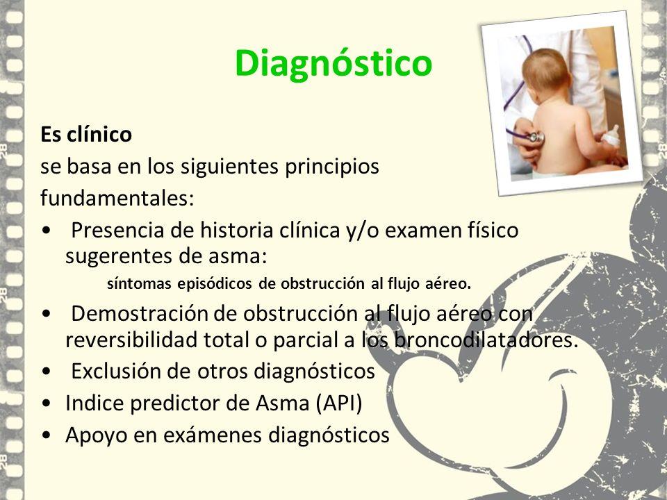 Diagnóstico Es clínico se basa en los siguientes principios