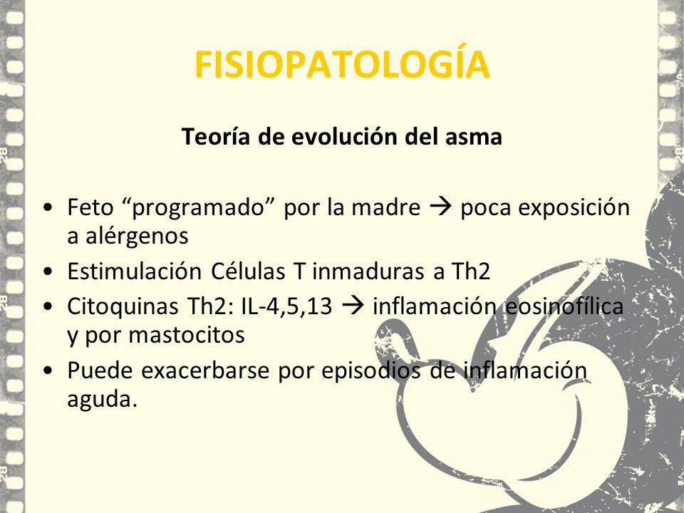 Teoría de evolución del asma