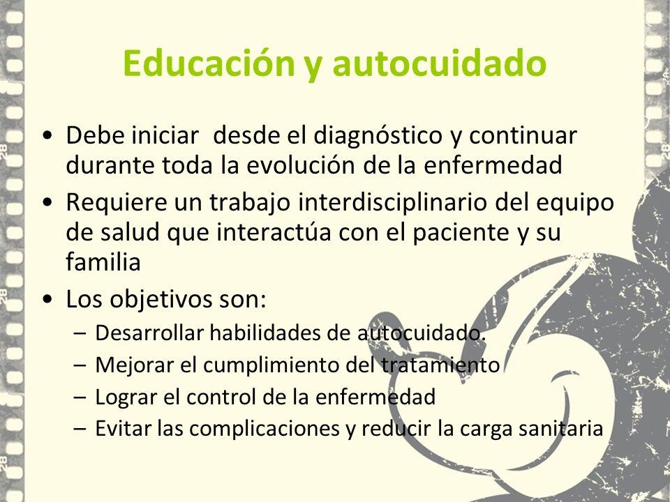 Educación y autocuidado