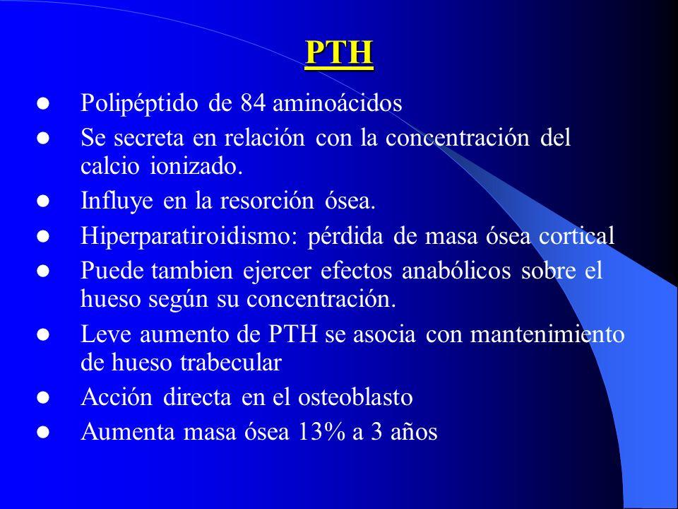 PTH Polipéptido de 84 aminoácidos