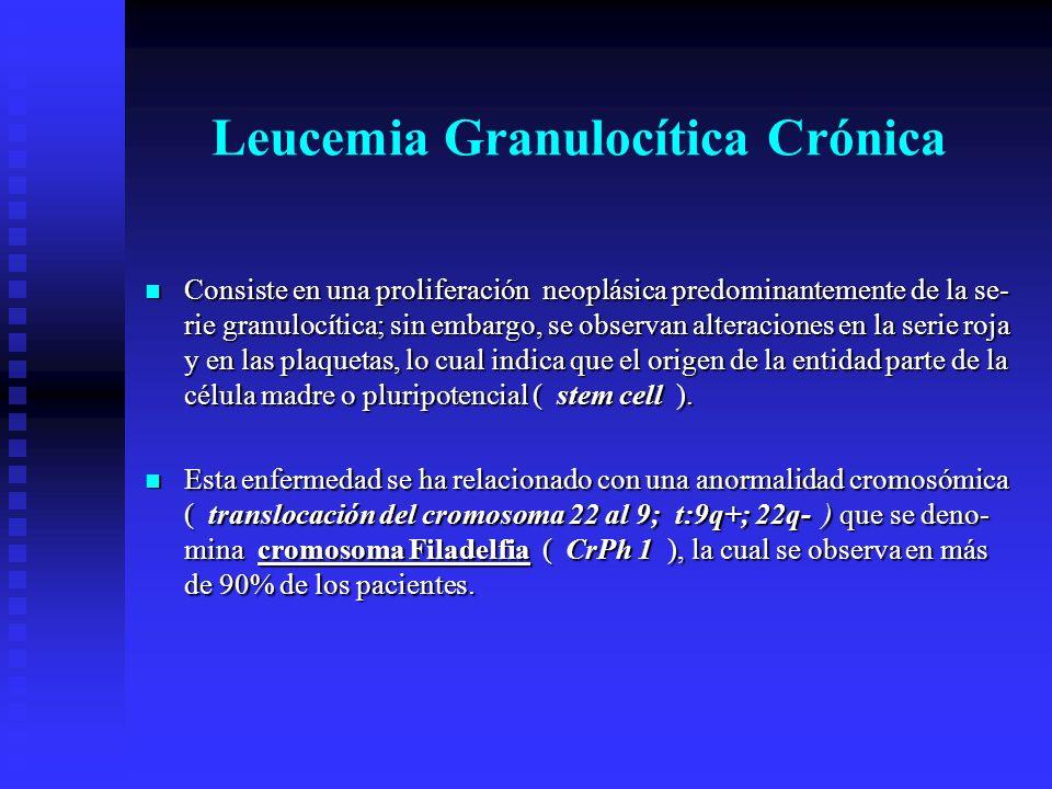 Leucemia Granulocítica Crónica