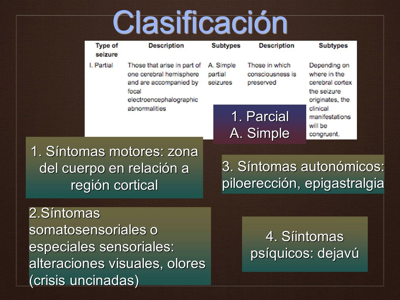 Clasificación 1. Parcial A. Simple