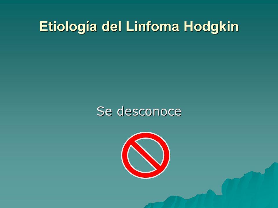 Etiología del Linfoma Hodgkin
