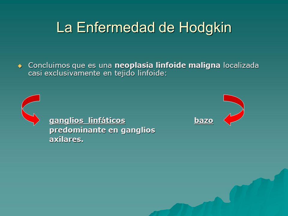 La Enfermedad de Hodgkin