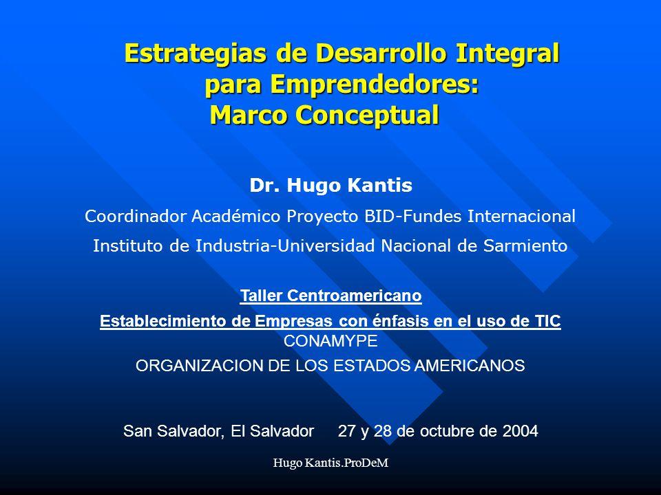 Estrategias de Desarrollo Integral para Emprendedores: Marco Conceptual