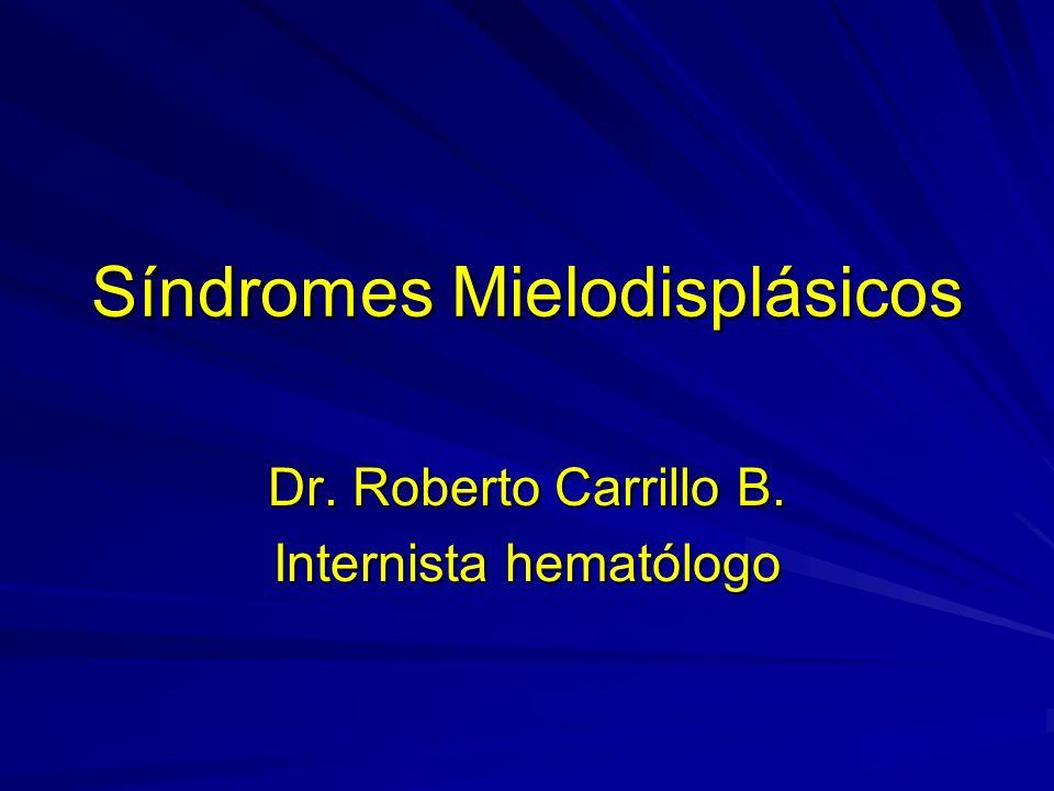 Síndromes Mielodisplásicos