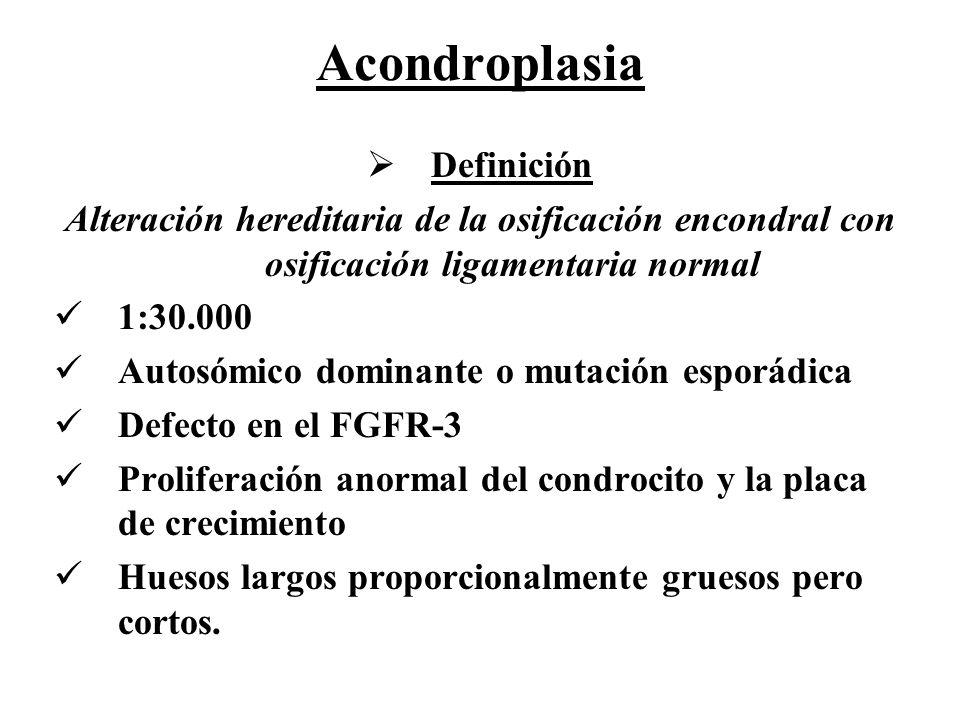 Acondroplasia Definición