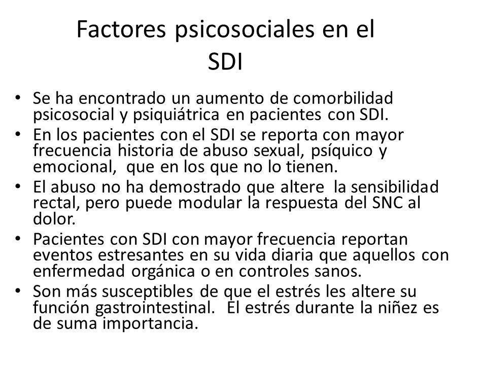 Factores psicosociales en el SDI