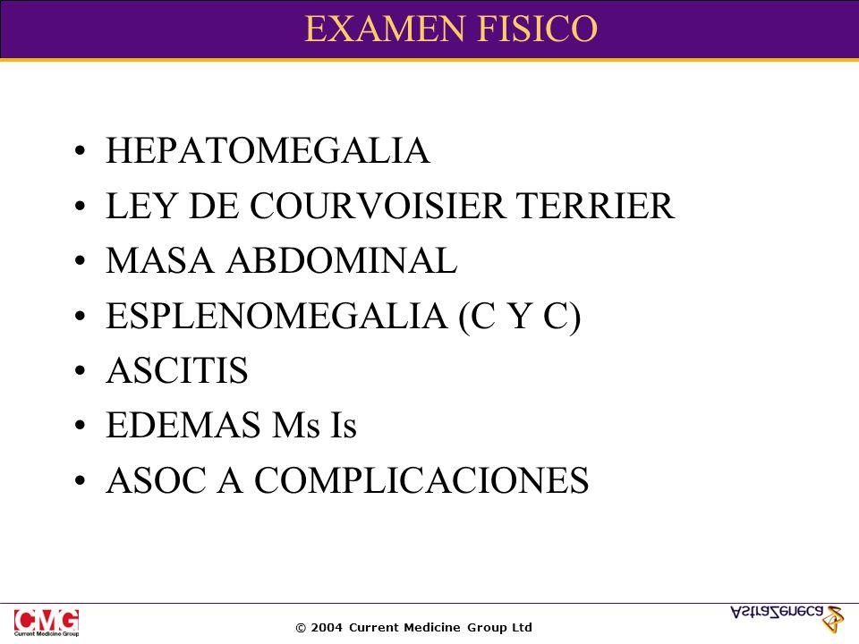 EXAMEN FISICOHEPATOMEGALIA. LEY DE COURVOISIER TERRIER. MASA ABDOMINAL. ESPLENOMEGALIA (C Y C) ASCITIS.