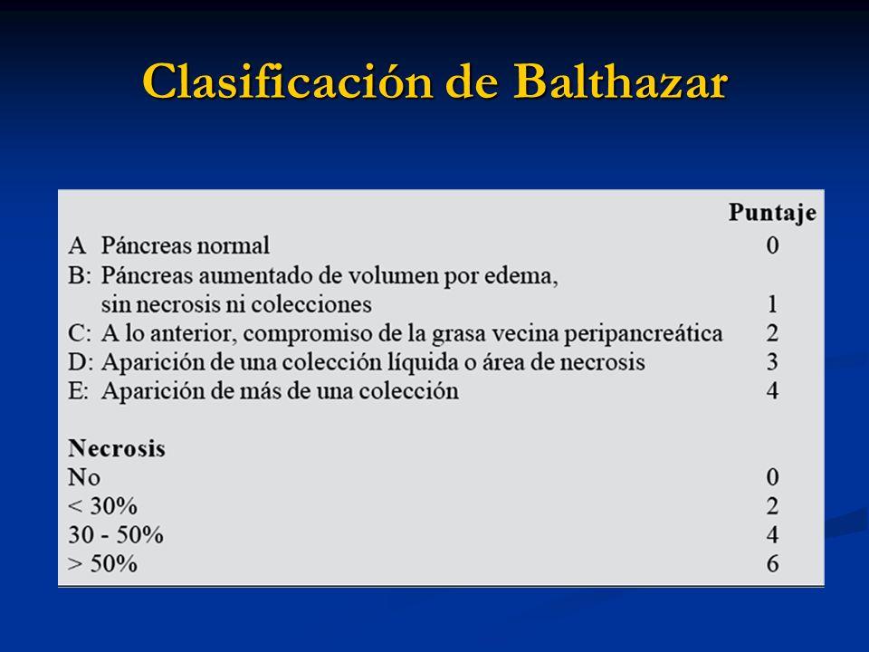 Clasificación de Balthazar