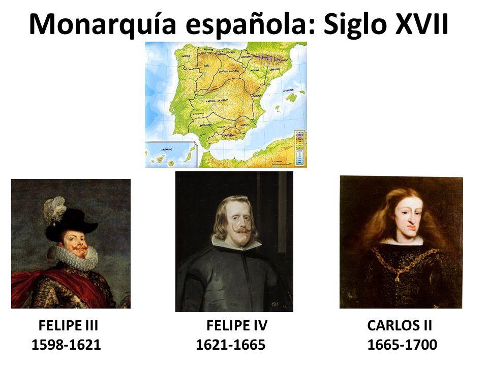Monarquía española: Siglo XVII