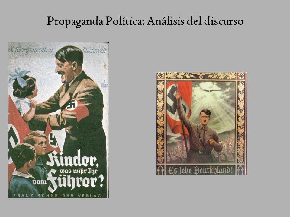Propaganda Política: Análisis del discurso