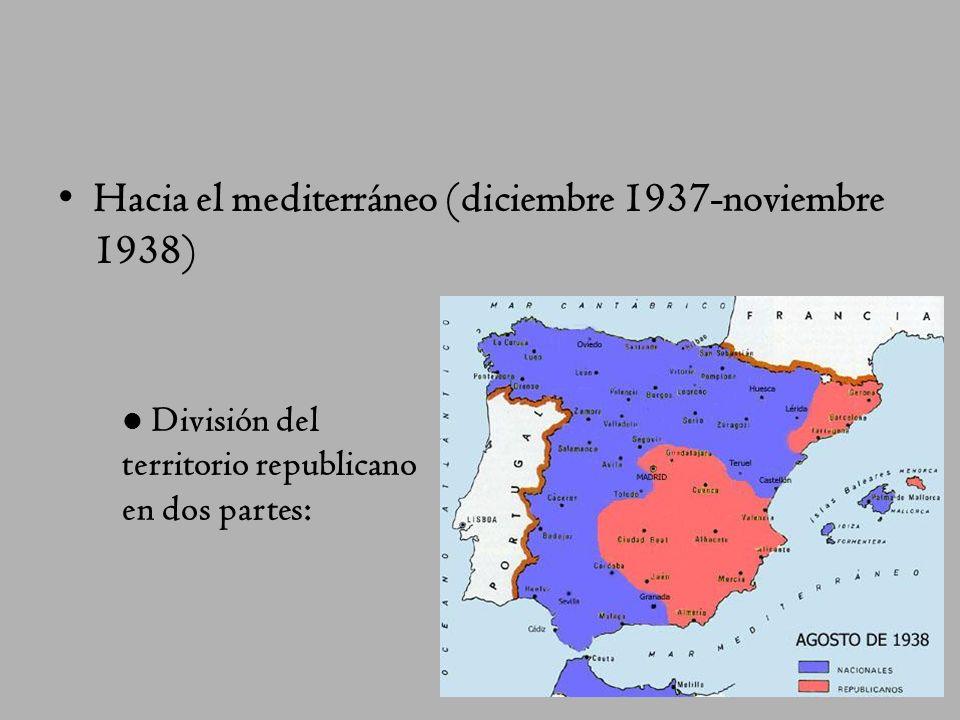 Hacia el mediterráneo (diciembre 1937-noviembre 1938)