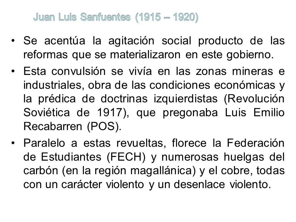 Juan Luis Sanfuentes (1915 – 1920)