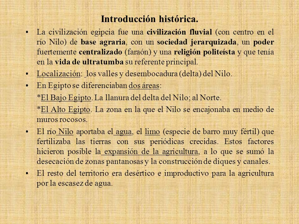 Introducción histórica.