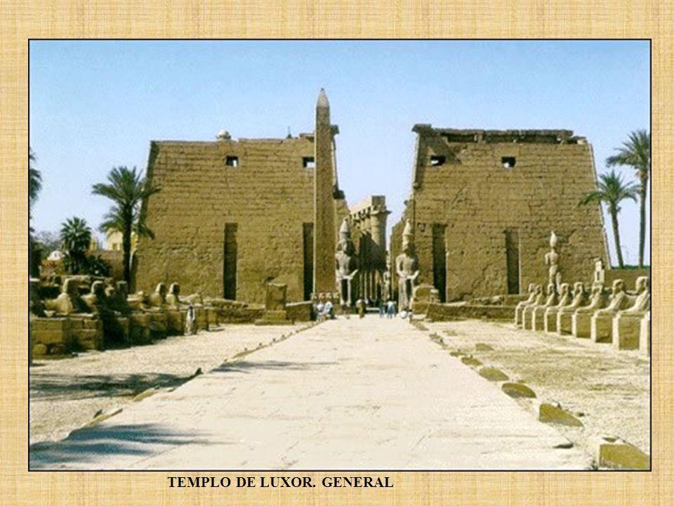 TEMPLO DE LUXOR. GENERAL
