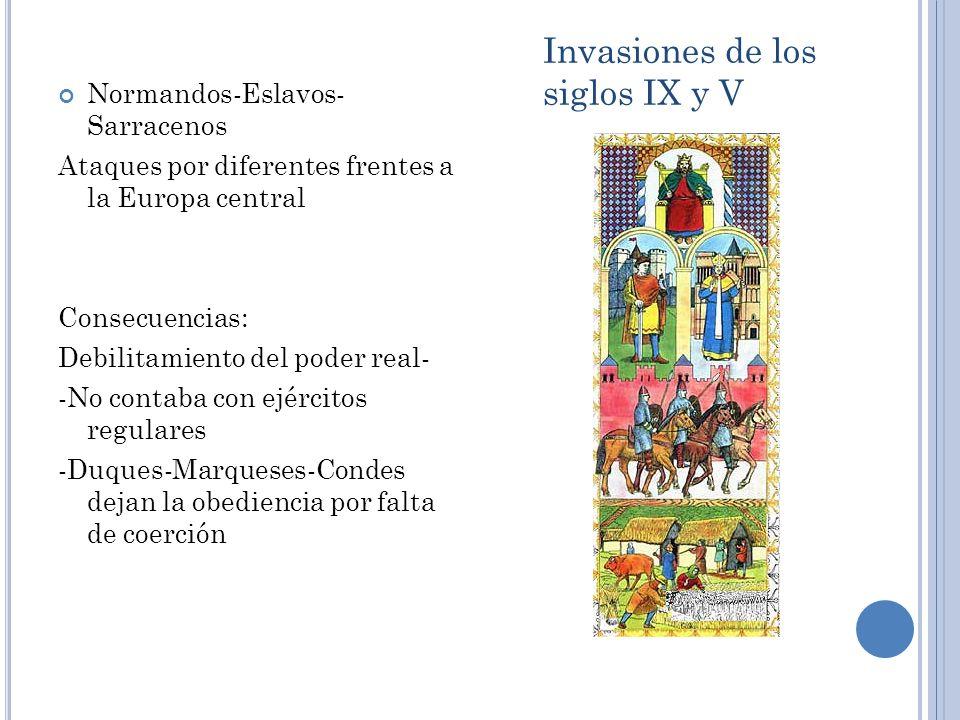 Invasiones de los siglos IX y V