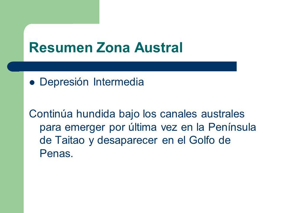 Resumen Zona Austral Depresión Intermedia