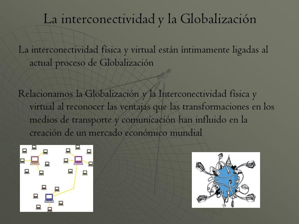 La interconectividad y la Globalización