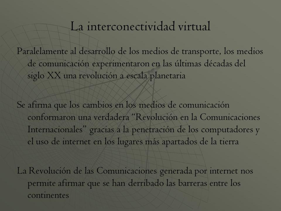 La interconectividad virtual