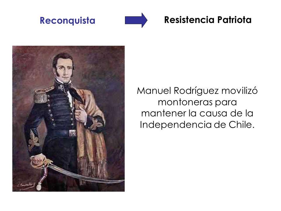 Resistencia Patriota Reconquista.