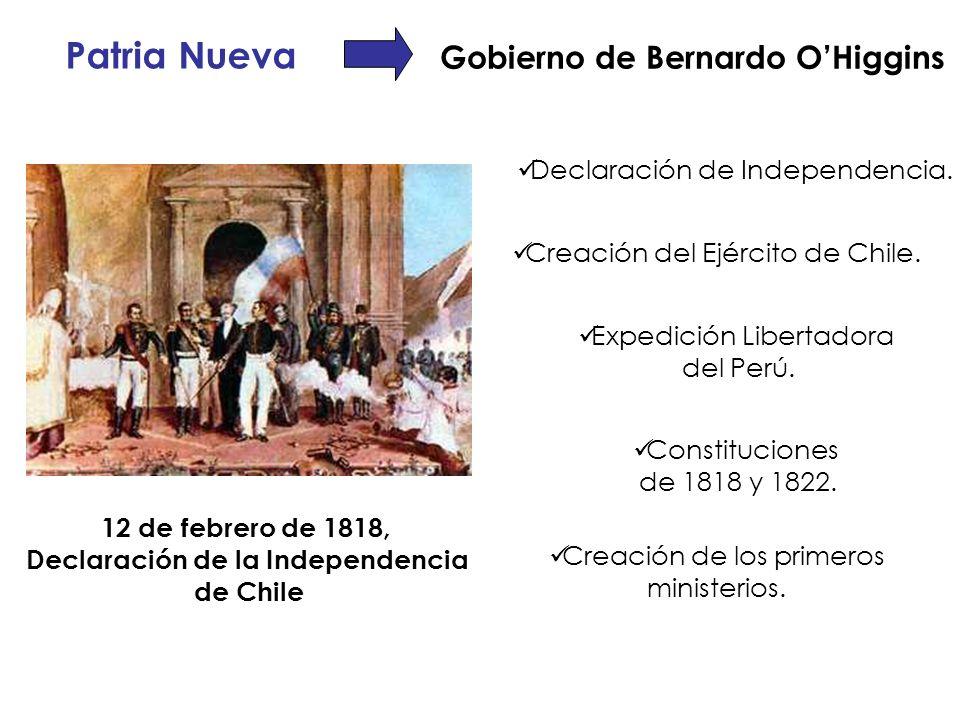 Gobierno de Bernardo O'Higgins