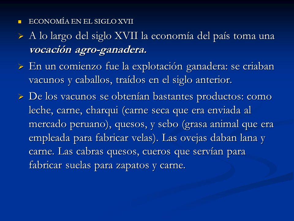 ECONOMÍA EN EL SIGLO XVII
