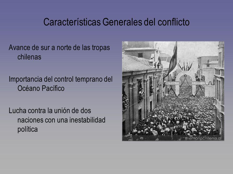 Características Generales del conflicto