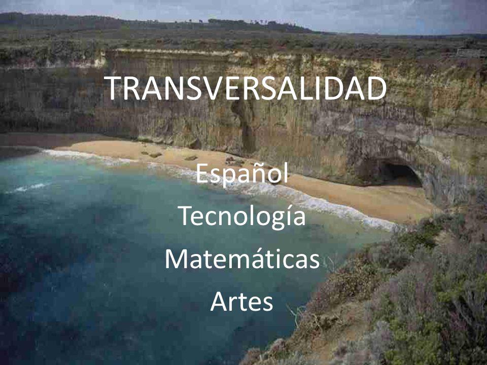 Español Tecnología Matemáticas Artes