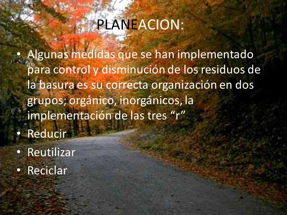 PLANEACION: