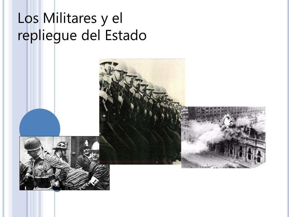 Los Militares y el repliegue del Estado