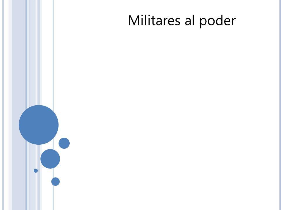 Militares al poder