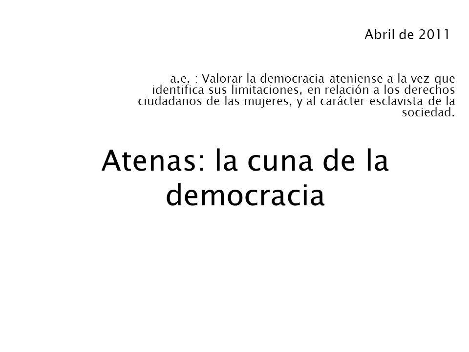 Atenas: la cuna de la democracia