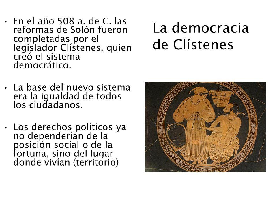 La democracia de Clístenes