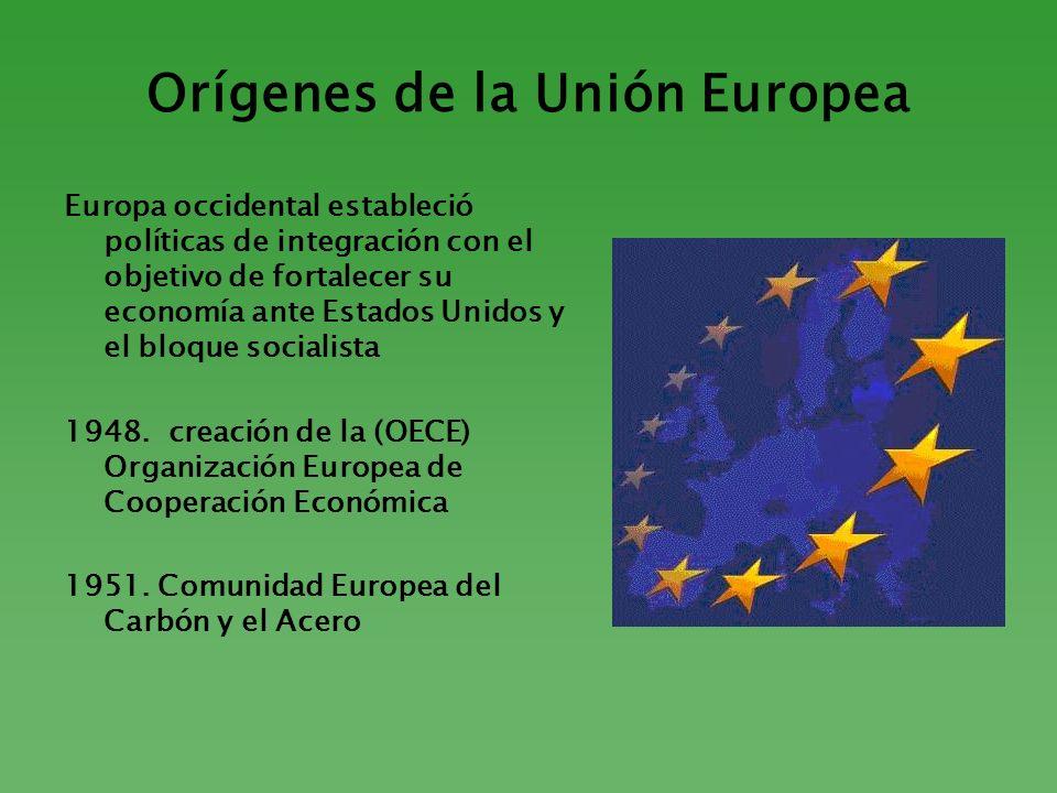 Orígenes de la Unión Europea