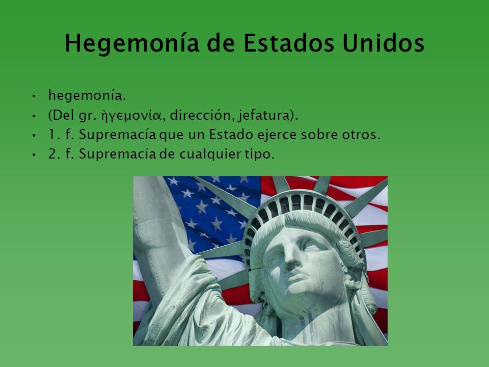 Hegemonía de Estados Unidos