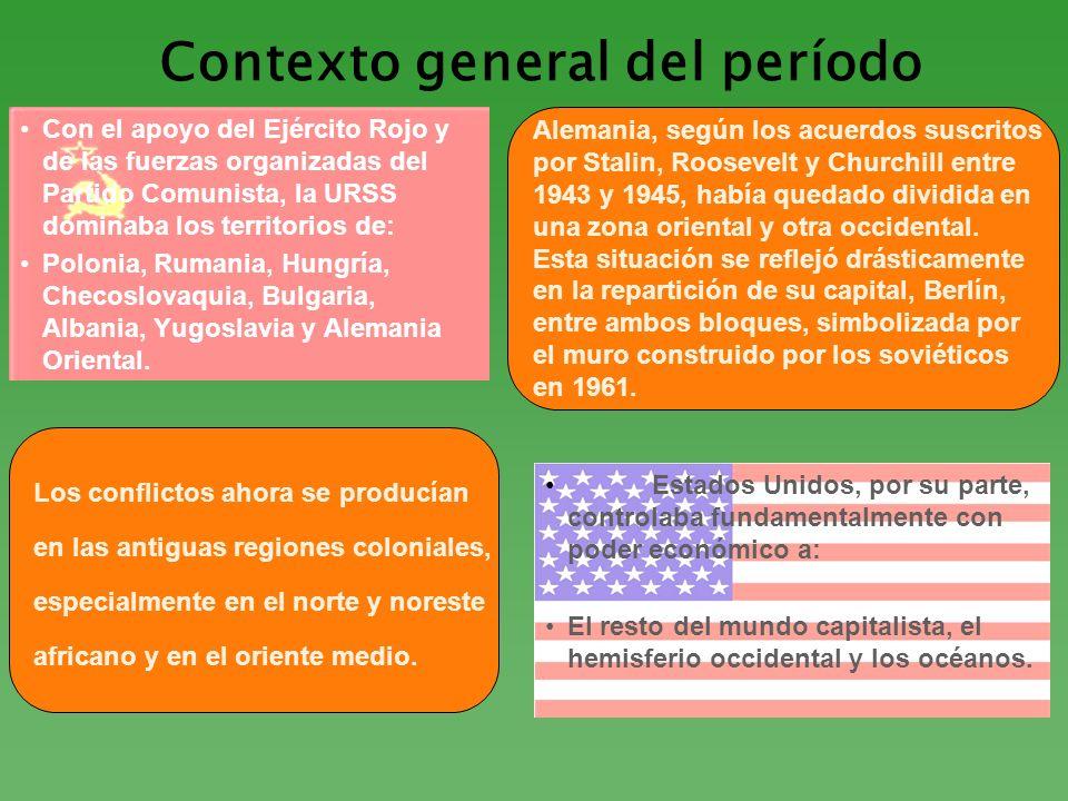 Contexto general del período